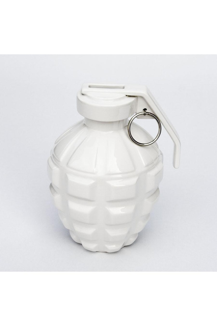Love Grenade Coin Bank