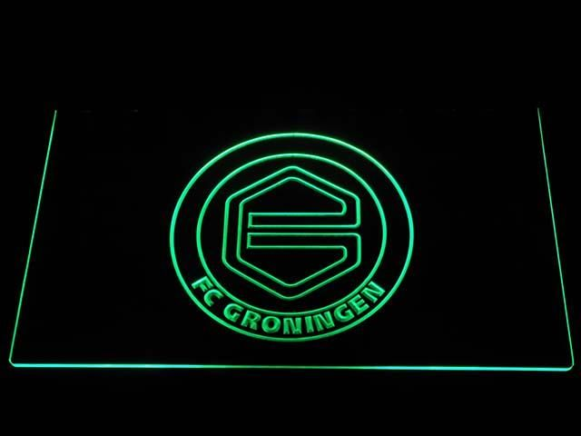 b1011 20+ Colors 5 Sizes FC Groningen Eredivisie LED Neon Sign