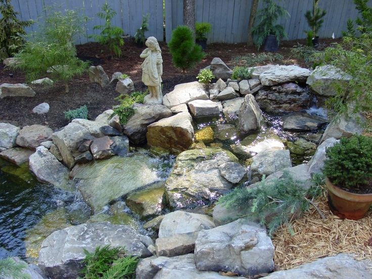 Small Backyard Ponds And Waterfalls Waterfalls Ponds