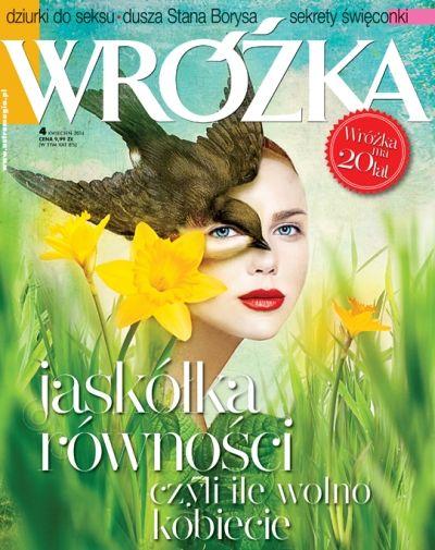 """""""WRÓŻKA"""" kwiecień 2014 - już wiosna!!"""