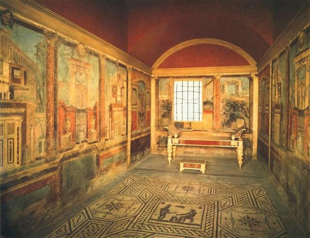gallery for ancient roman bedroom