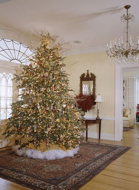 17 best images about beautiful christmas trees on How to hang garland on a christmas tree