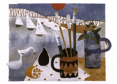 Paint Brushes – Mary Fedden