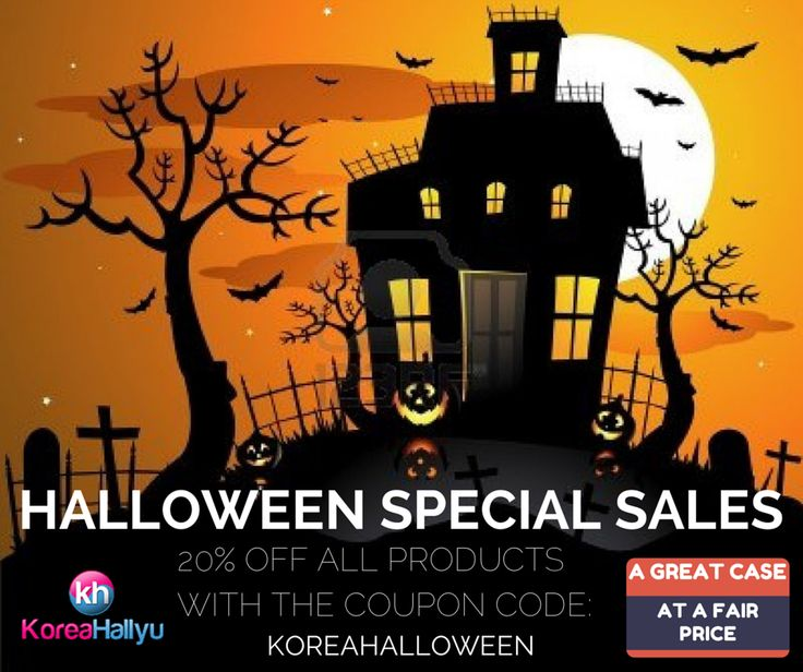 Halloween Special Sales! 20% off any single item with the coupon code: KOREAHALLOWEEN (valid until 2014-11-01). http://koreahallyu.asia/