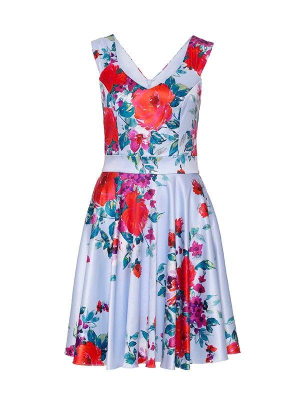 Review Australia | Florent Dress Blue