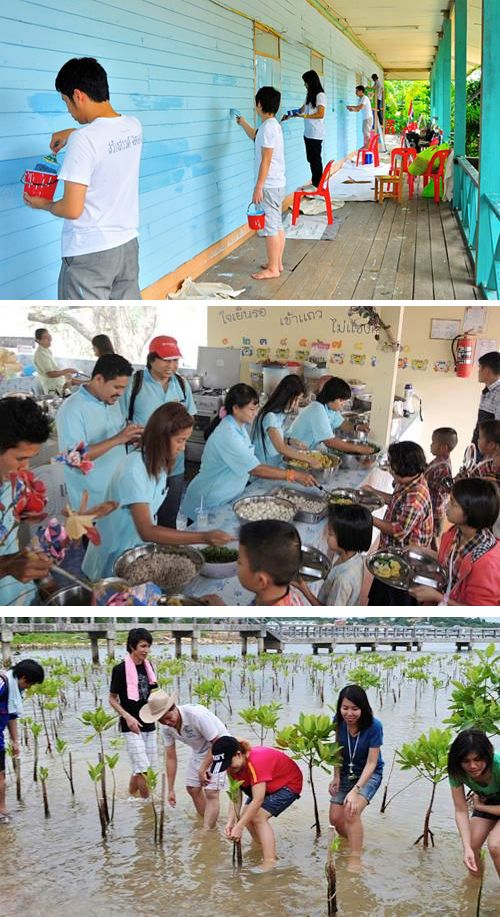 We, Practika, often organize outside activities whether its purpose is for CSR or travelling such activities as volunteering and staff outing. Since we are the same family, then we care about our harmony.