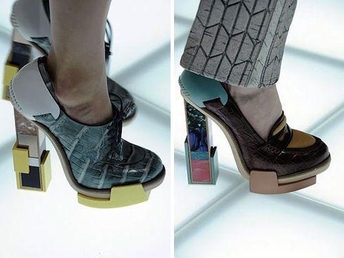 Architectural Shoes by Balenciaga Photo