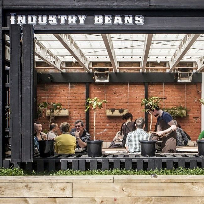 Industry Beans, Fitzroy, Melbourne. Great Rosters And A