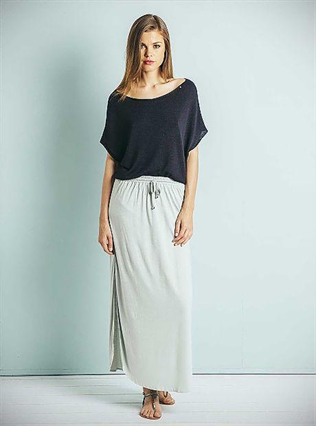 Paige Skirt / Pale Blue is now #onsale!! AU$52   #BuddhaWear