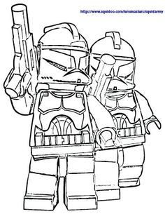 lego star wars coloring page - Star Wars Free Coloring Pages
