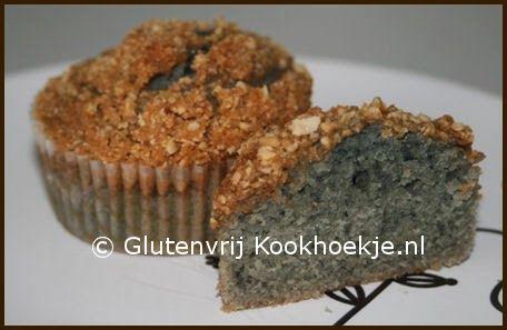 Cupcakes met gezouten karamel en gebroken cashewnoten | Het Glutenvrije Kookhoekje