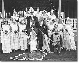 Crowning of Miss Hordernia, Anthony Horderns, 1932