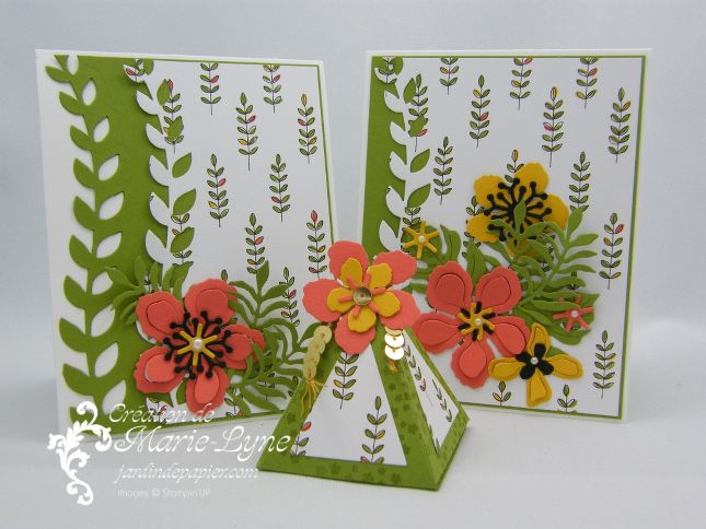 Scrapbooking stampin up canada cartes d 39 anniversaire et for Carte jardin de tadine