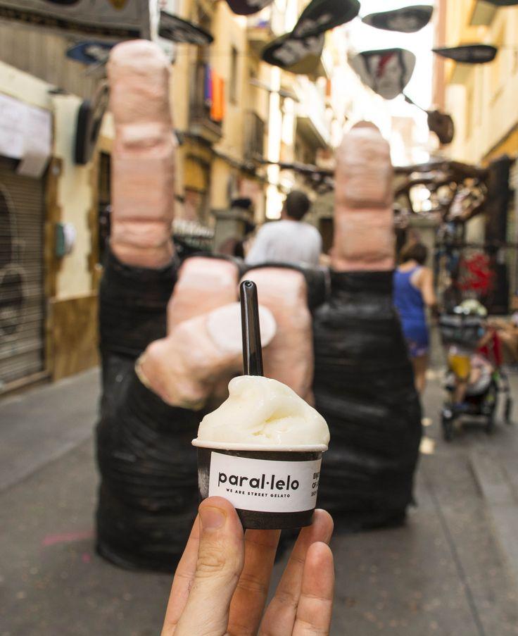 En la Festa Major de Gràcia.