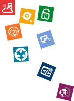 IT-Infrastruktur und Cloud, IT-Dienstleistungen, IT-Management, IT-Sicherheit, Mobilität, virtuelle Teamarbeit und Wissenstransfer, Software und Lizenzen, Kommunikation