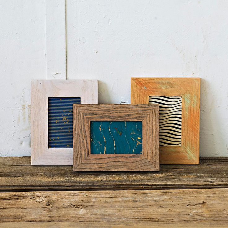 4x6 Picture Frame | Reclaimed Wood Frame | Custom Color Wooden Picture Frame | Photo Frame | Fine Art Print Frame | Easel Back Frame 46H