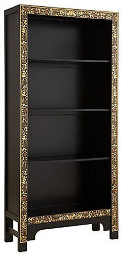 Tesco direct: Baumhaus The Nine Schools Oriental Decorated Black Bookcase