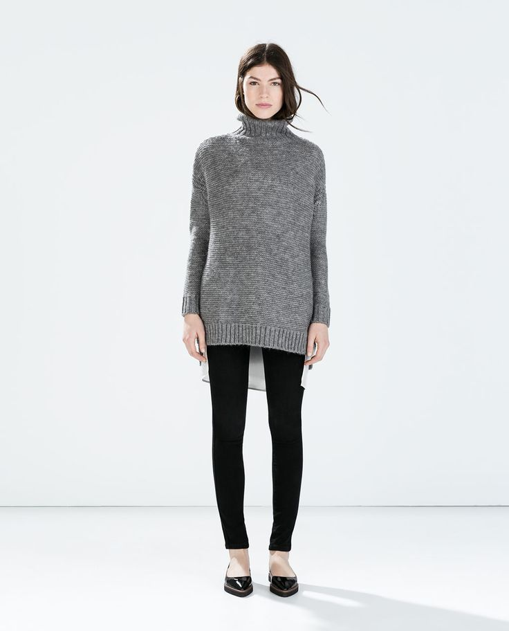 Image 1 of DETAILED KNIT TOP from Zara