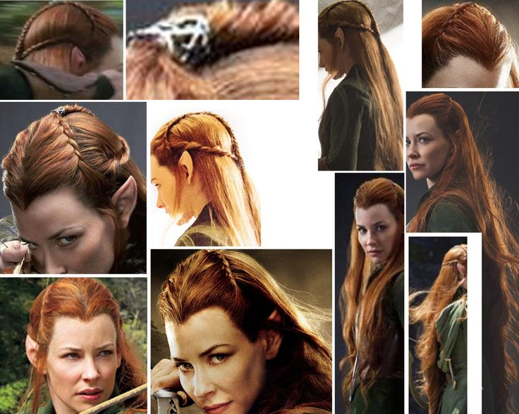 Hairstyle Refs : Tauriel Cosplay Refs and Help! ? By an overwhelming vote, this next ...