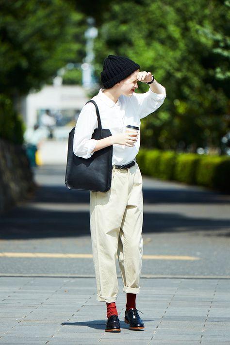 여름패션 가벼운 와이셔츠 블랙엔 화이트