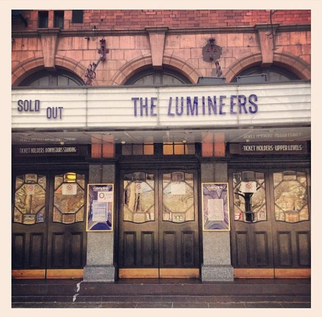 The Lumineers...the goal is to see these guys in concert some day <3