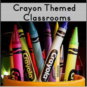 This Crayon Themed Classroom Pinterest Board was created to provide photos and ideas for decorating a classroom with a crayon or art theme. The bright colors are perfect for an inspired classroom. :) pinned by Jodi from The Clutter-Free Classroom