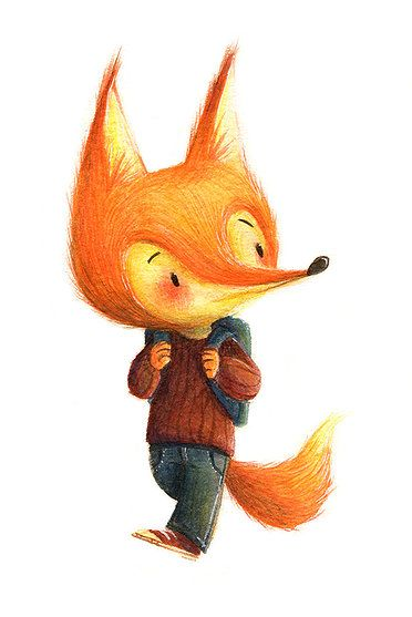 by Teressa Ong ||| fox, anthropomorphic