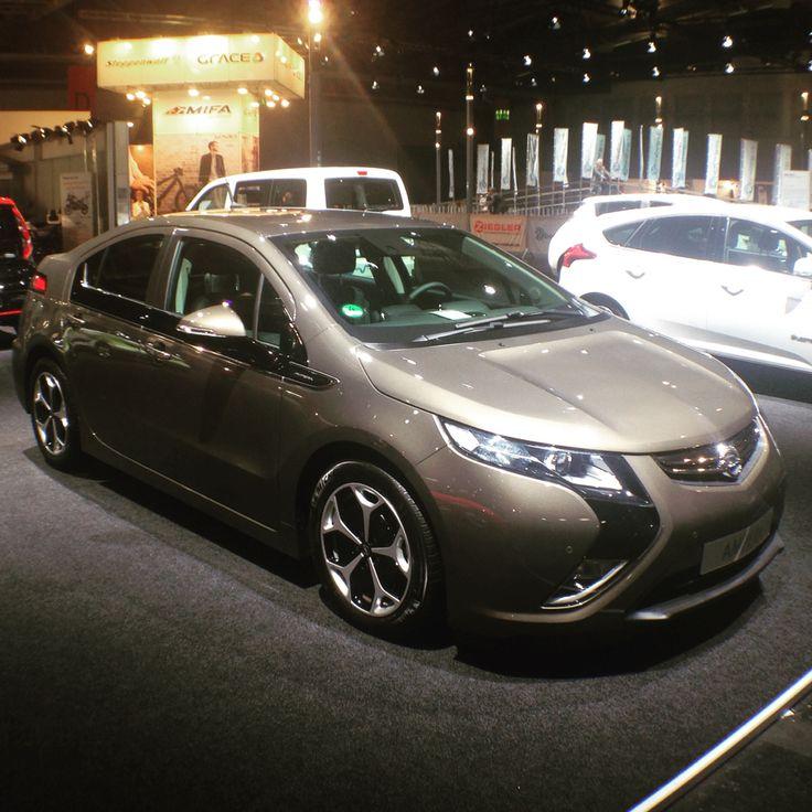 #Opel #Ampera auf der #IAA2015 - #Elektroauto #eMobility #Elektromobilität #hybrid #IAA