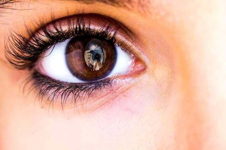 https://flic.kr/p/WDsU82 | #eye #me #photoshop #camera #brown #creative #reflection #face
