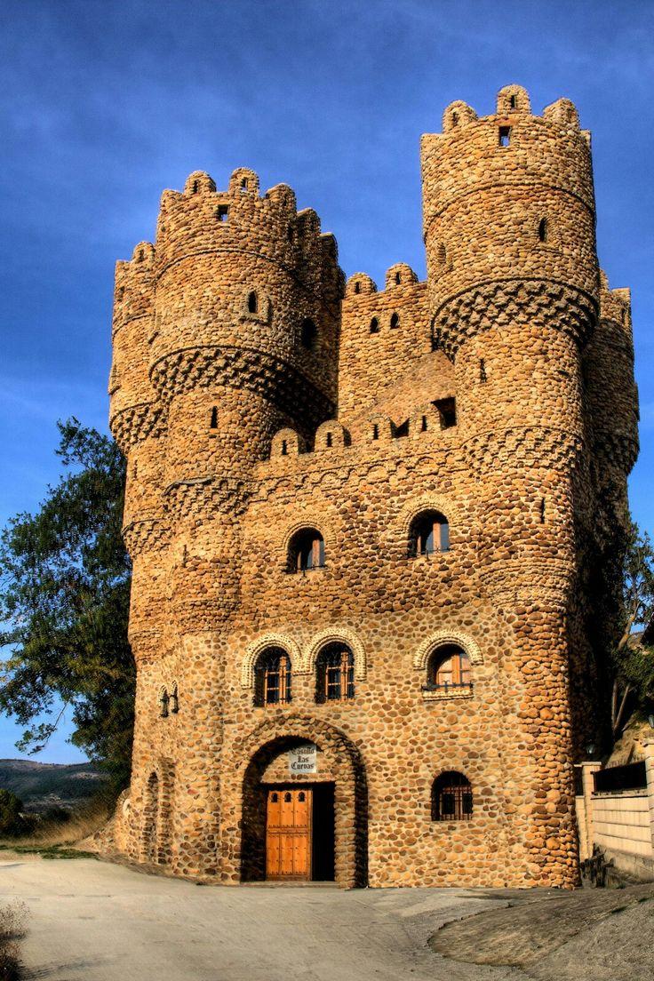 Castillo de las Cuevas/Castle of the Caves in Cebolleros - Burgos, Spain