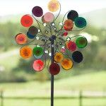 Outdoor Yard Decor – Wind Spinner – Plow & Hearth Raindrops Wind Spinner