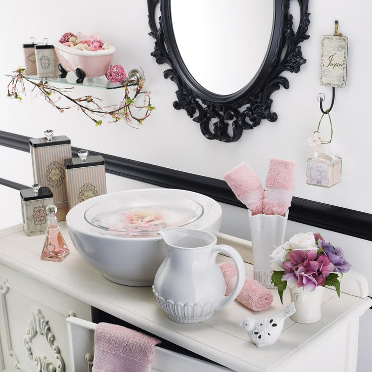 1000 ideas about parisian bathroom on pinterest micro. Black Bedroom Furniture Sets. Home Design Ideas