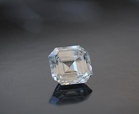 2.01Ct Asscher Cut #Diamond - Stunning piece of earth polished to perfection! We love #stepcut #diamonds