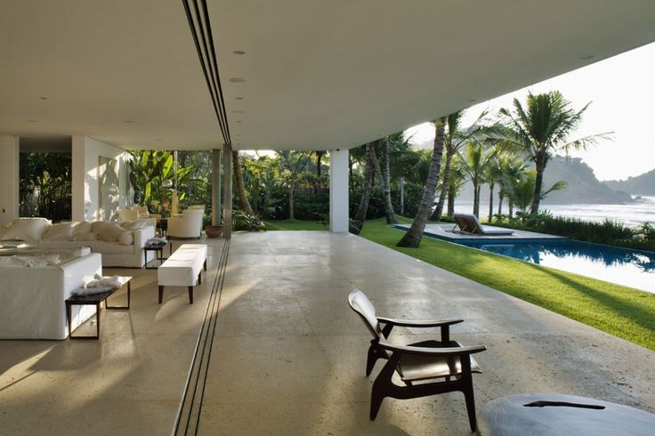 Iporanga House in Guaruja, Brazil by Isay Weinfeld
