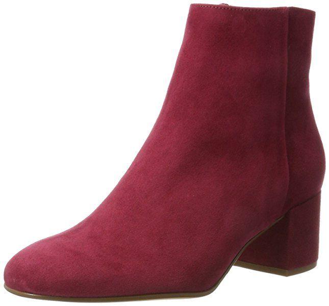 Högl Damen 4-10 4112 8300 Stiefel, Rot (Raspberry), 41 EU
