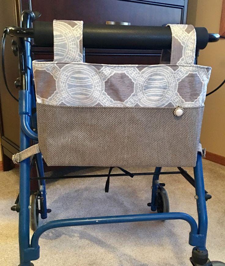 221 best Walker wheel chair caddy images on Pinterest