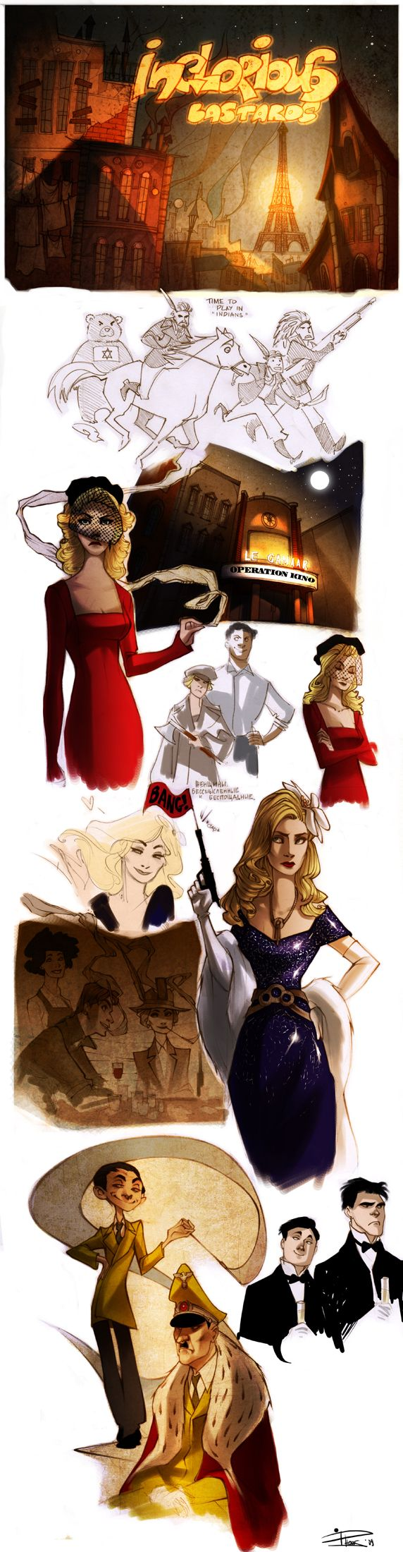 17 best ideas about inglourious basterds inglorious art by phobs blog website phobso