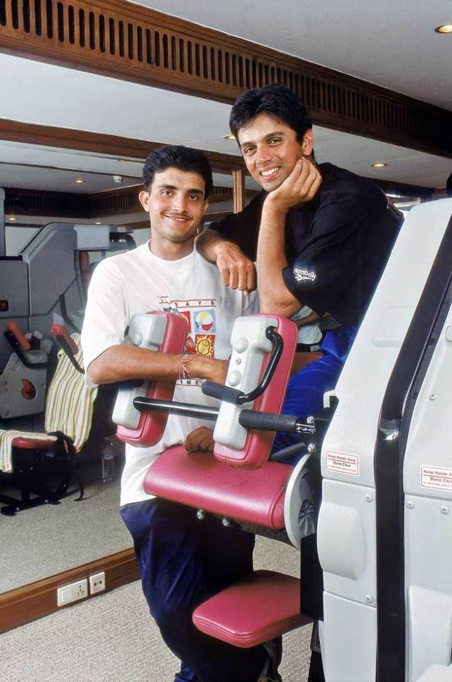 Bad Ass Saurav Ganguly and Super Bad Ass Rahul Dravid