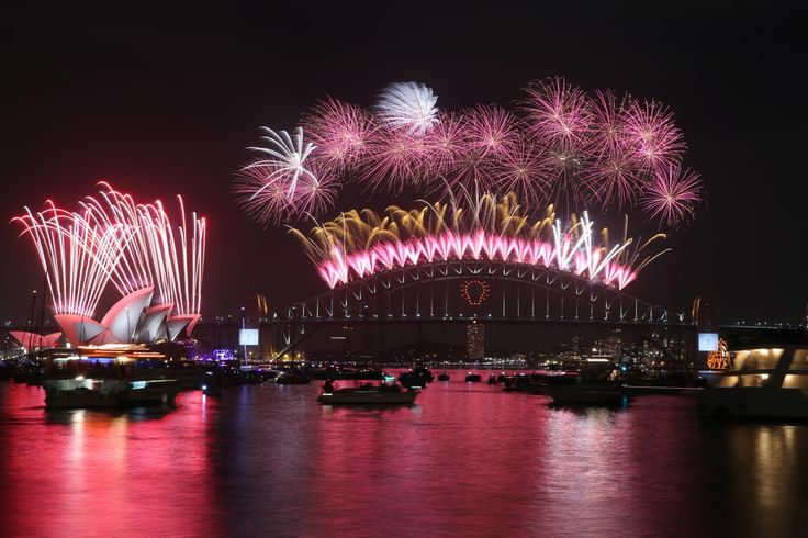 Watch the Sydney New Year's Eve fireworks displays, catch the Harbour of Light Parade and share your experience by tweeting the bridge. www.visitingnsw.com