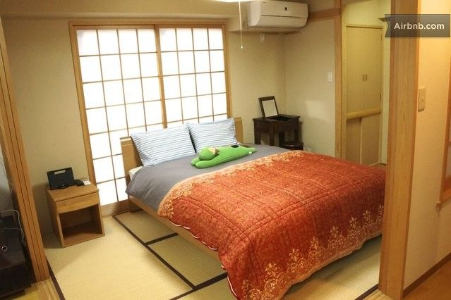 Where to stay: Sliding doors and simple adornments exemplify a Japanese bedroom. Stay in a tea-worthy, tatami style room that highlights the fact you're in Japan.