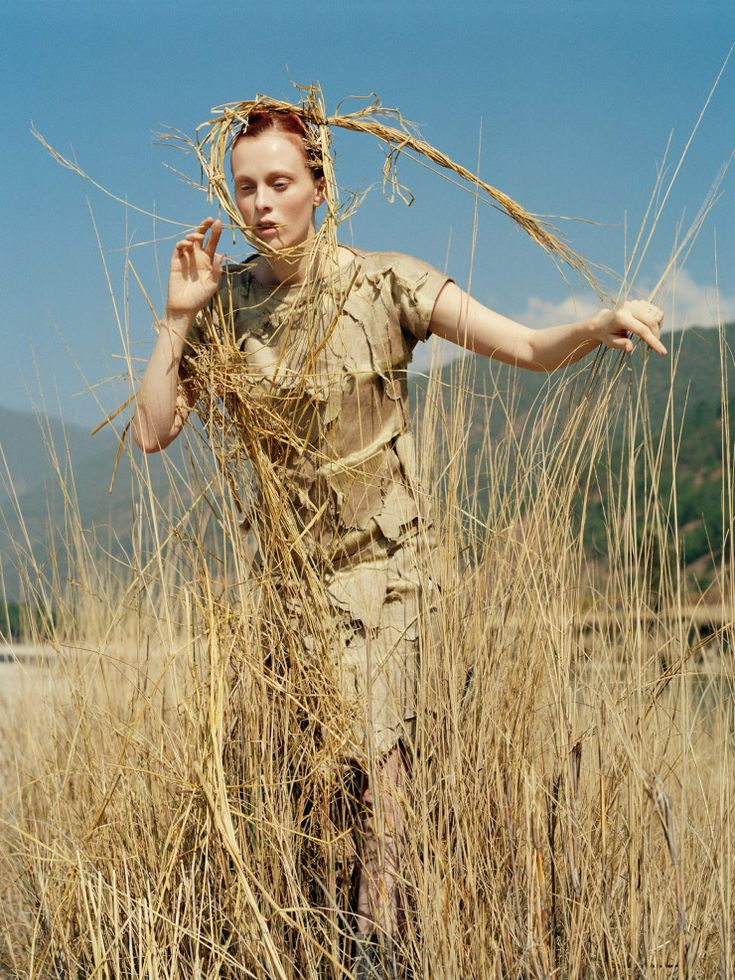 Karen Elson 'In the Land of Dreamy Dreams' by Tim Walker, Vogue UK May 2015.
