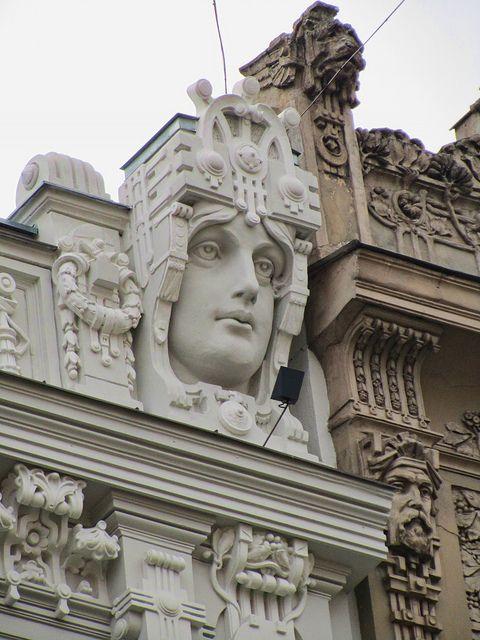 Riga, Latvia. I love hidden architectural moments.