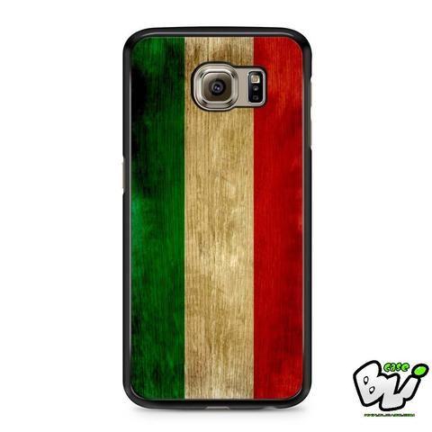 Vintage Italian Flag Samsung Galaxy S6 Case