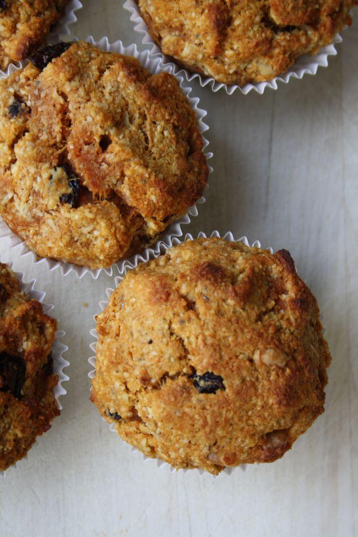 Gezonde wortel muffins - http://www.volrecepten.nl/r/gezonde-wortel-muffins-6254101.html