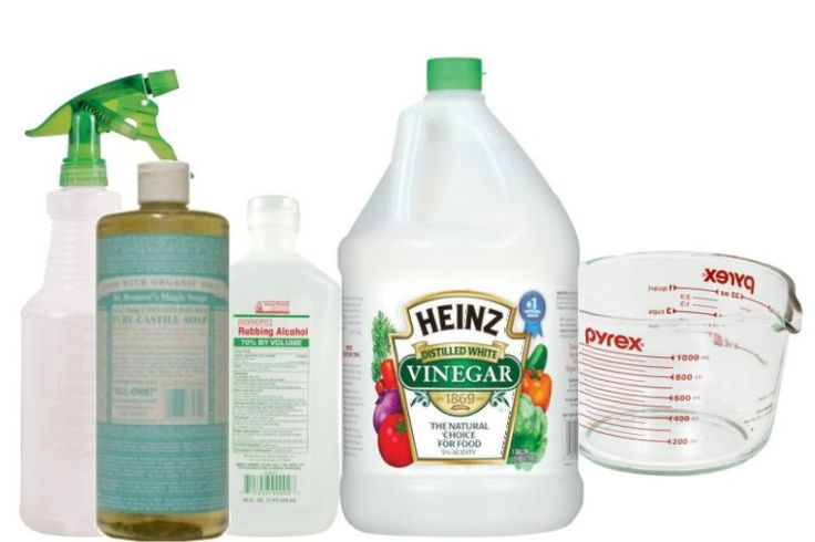 DIY Laminate Floor Cleaner Ingredients