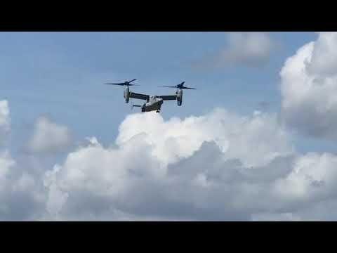V-22 Osprey in Ponce Mercedita