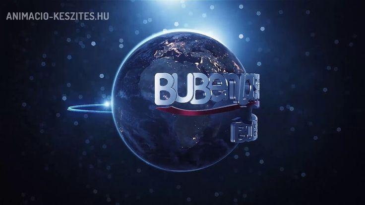 3D logóanimáció - BubenLaser (Hi-Tech)