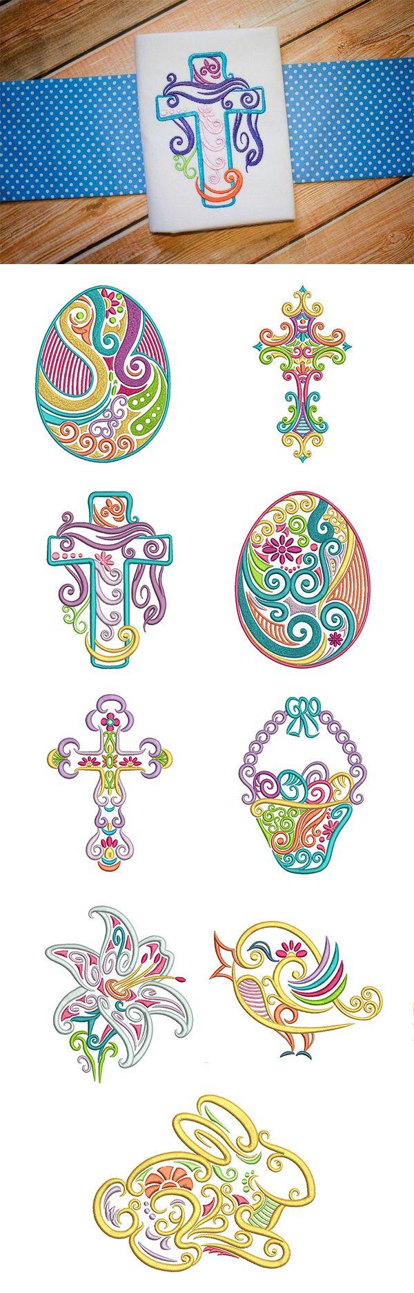 religious machine embroidery designs