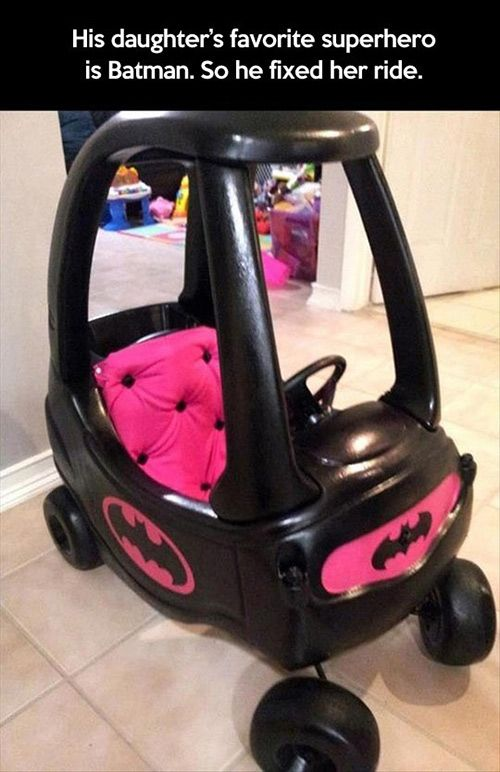 Batman's ride.
