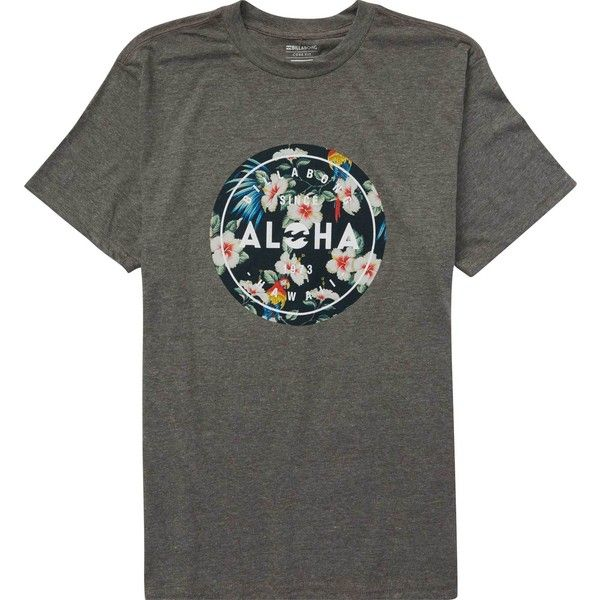 Aloha Seal Hawaii Tee ($25) ❤ liked on Polyvore featuring men's fashion, men's clothing, men's shirts, men's t-shirts, mens short sleeve hawaiian shirts, mens hawaiian shirts, j crew mens shirts, men's hawaiian print shirts and mens print shirts